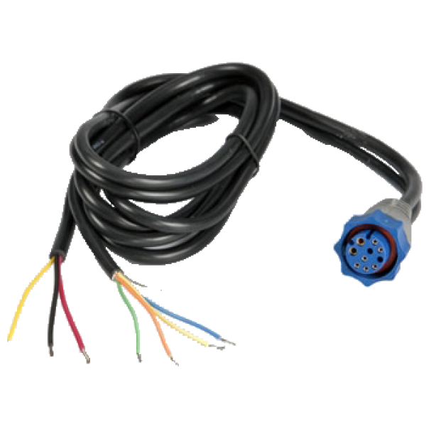 lowrance power data cable for hds elite 5 hdi elite 5m. Black Bedroom Furniture Sets. Home Design Ideas