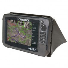 Nissan Frontier / Xterra Lowrance HDS7 Mount by Rugged Routes, 2005 - 2008