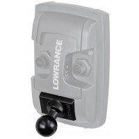 """Quick Release Adapter with 1"""" Ball (Light Use) by RAM, For Lowrance Elite & Trophy"""