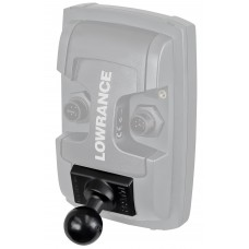"Quick Release Adapter with 1"" Ball (Light Use) by RAM, For Lowrance Elite & Trophy"