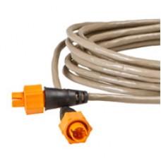 Ethernet Cable by Lowrance, Yellow Plug, 15 Ft.