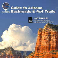 Funtreks Guide to Arizona Lowrance Map by Rugged Routes