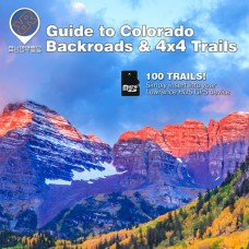 Funtreks Guide to Colorado Lowrance Map by Rugged Routes