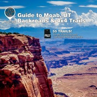 Guide to Moab, UT Lowrance Map by Rugged Routes