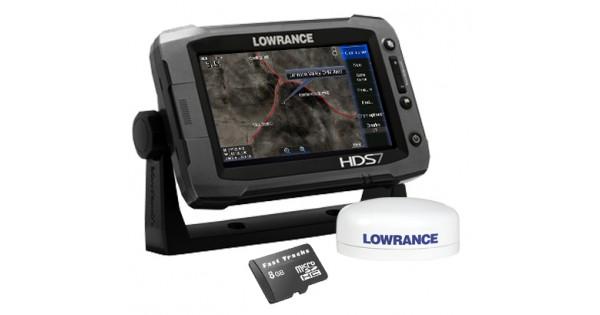 HDS-7 Gen2 Touch Multifunction Off Road GPS Baja Bundle by
