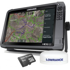 HDS-12 Gen3 Touch Multifunction Off Road GPS Baja Bundle by Rugged Routes