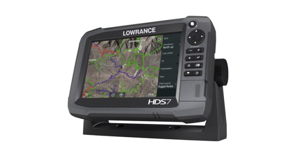 HDS-7 Gen3 Touch Multifunction Off Road GPS by Lowrance