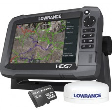 HDS-7 Gen3 Touch Multifunction Off Road GPS Baja Bundle by Rugged Routes