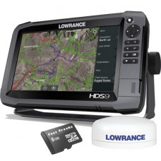 HDS-9 Gen3 Touch Multifunction Off Road GPS Baja Bundle by Rugged Routes