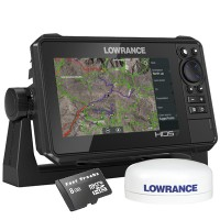 HDS-7 Live Multifunction Off Road GPS Baja Bundle By  Lowrance