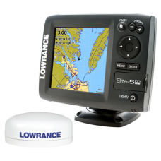 Elite-5M HD Baja Off Road GPS w/ Ext. Antenna by Lowrance