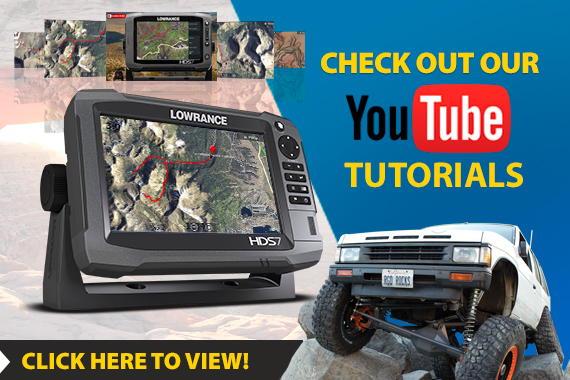 lowrance off road gps tutorials